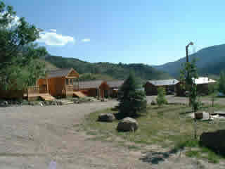 Cabins are available at Rancho - right on the Colorado River